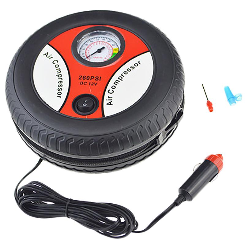 Tire Inflator Car Air Pump Compressor Electric Portable Auto 12V Volt 260 Psi