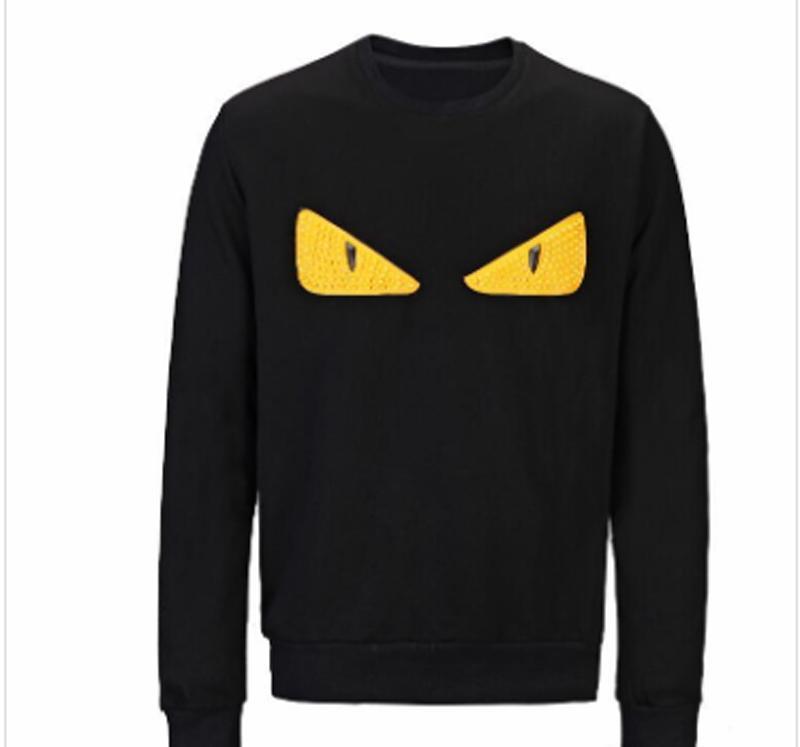Hoodie Eye camisola das mulheres dos homens camisola com capuz manga comprida Pullover Marca Hoodies Streetwear Moda Sweatershirt Mens monstro do diabo
