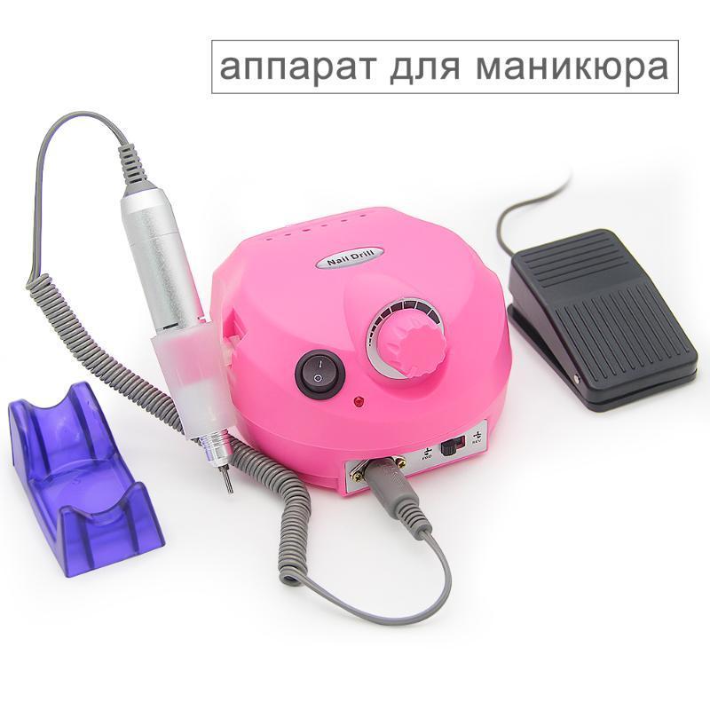 LKE 30000 RPM Professional Electric Nail Drill Accessory Nail Art Equipment Bits Manicure Machine Arts Tools