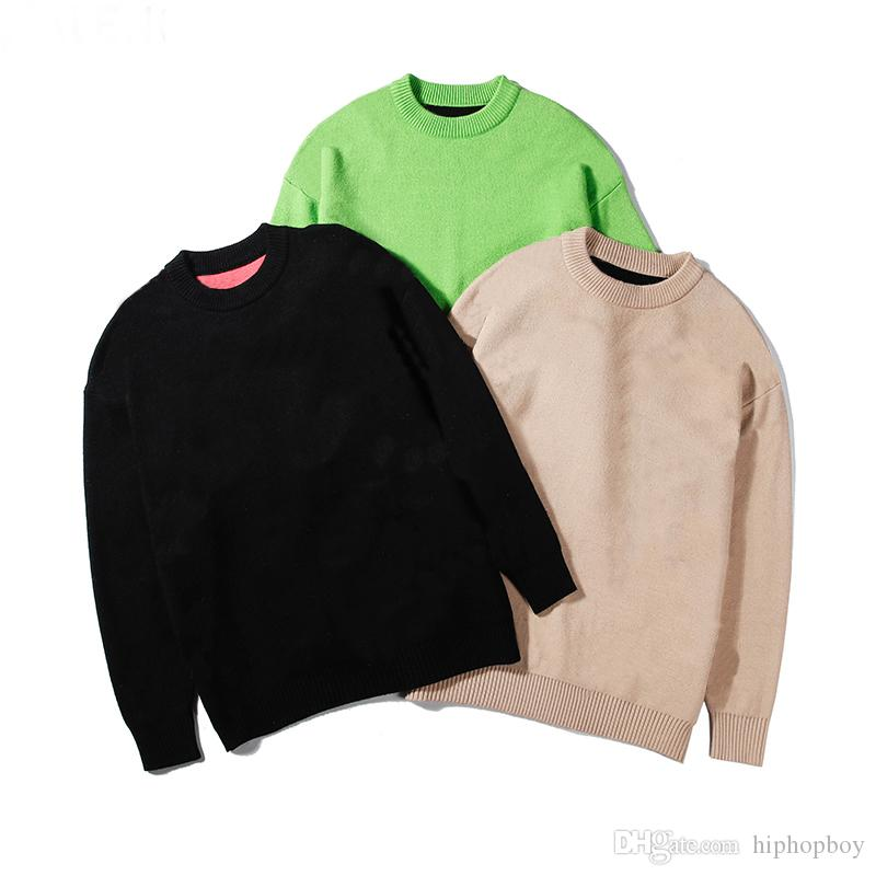 FamousMens Stylist Sweaters Letter Printed Sweatshirts Men Women Streetwear Stylist Sweaters 3 Colors M-2XL