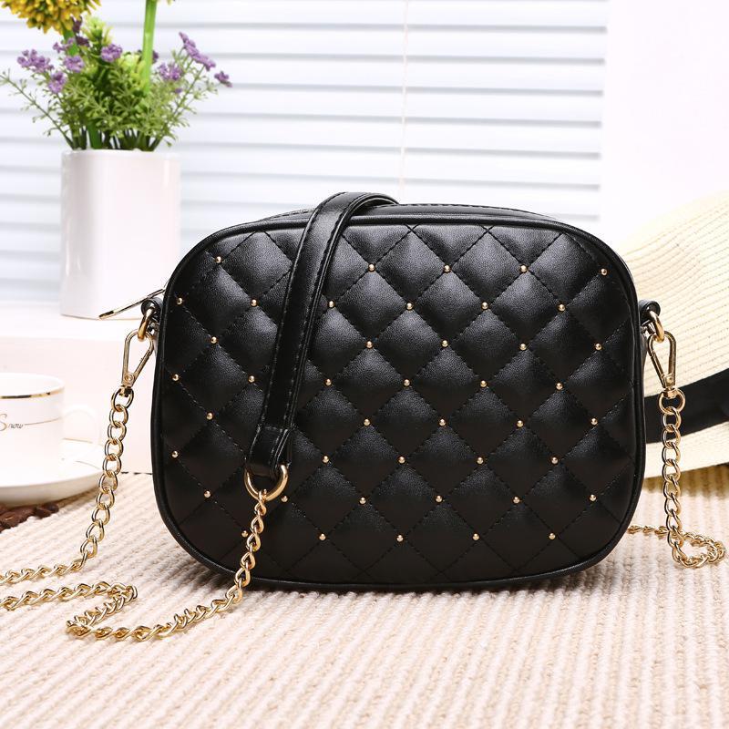 Venda Hot Mulheres Mensageiro sacos de marca Designer Bolsas de Ombro Rebite Cadeia Correia Bandoleira Sacos para mulheres Bolas Feminina
