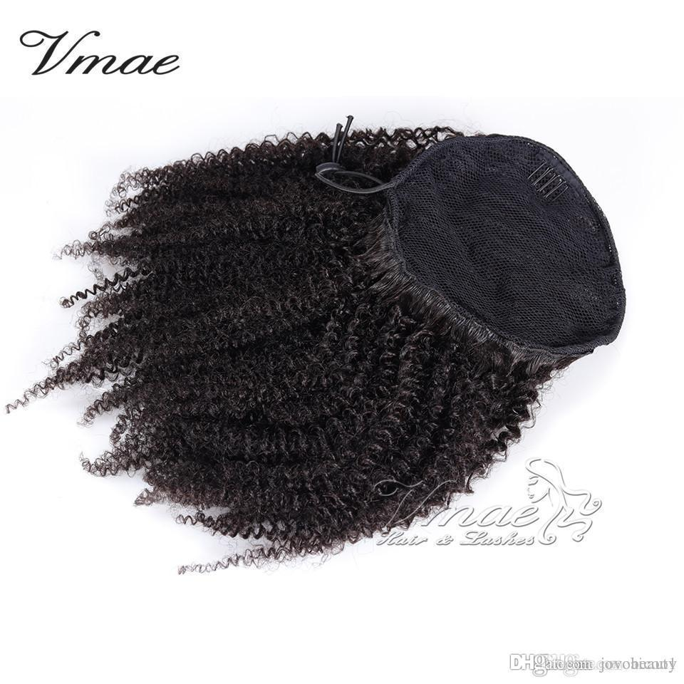 Vmae Human Afro Kinky Curly Ponytail Hair 100g 3c 4a 4b 4c Natural Hair Horsetail Tight Hole Clip In Drawstring Ponytails Hair Extensions Real Hair Hairpieces Ponytail Hairstyles From Jovobeauty 42 97 Dhgate Com