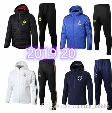 2019 20 L. GUSTAVO PAYET Sombrero Chaqueta kit Griezmann jia3 de Marsella THAUVIN SANSON Negro Zafiro Blanco para hombre de las camisas del fútbol Traje