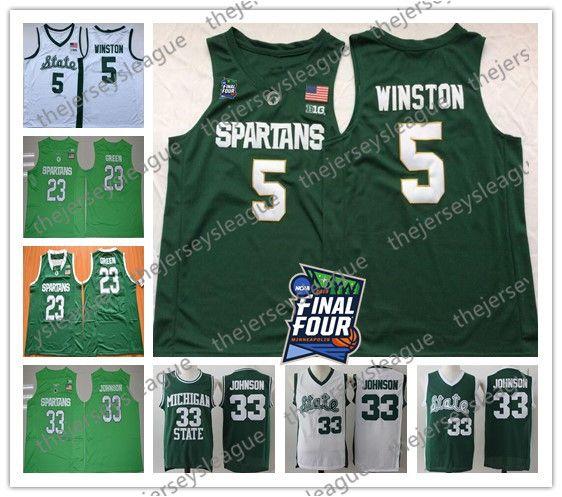 2021 2019 Spartans Final Four Michigan State 5 Cassius Winston #33 ...