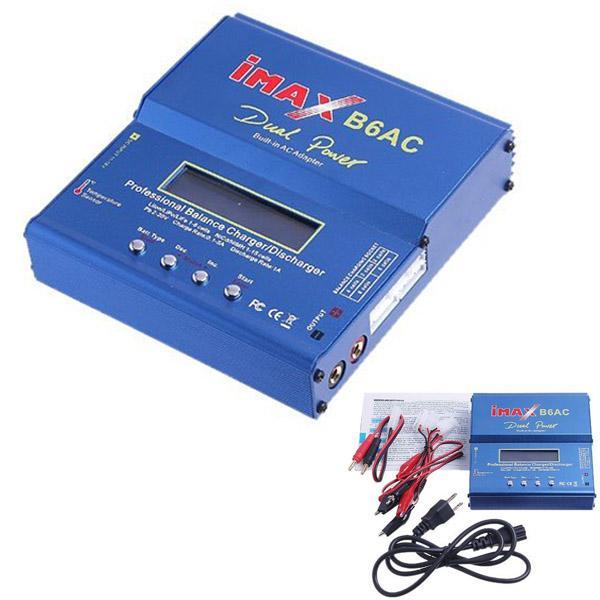 DHL 또는 EMS에 의해 20 개 아이 맥스 (IMAX) B6AC B6AC 리포의 NiMH는 정 5S 11.1V 7.4V-22.2V RC 배터리 밸런서 충전기 3S