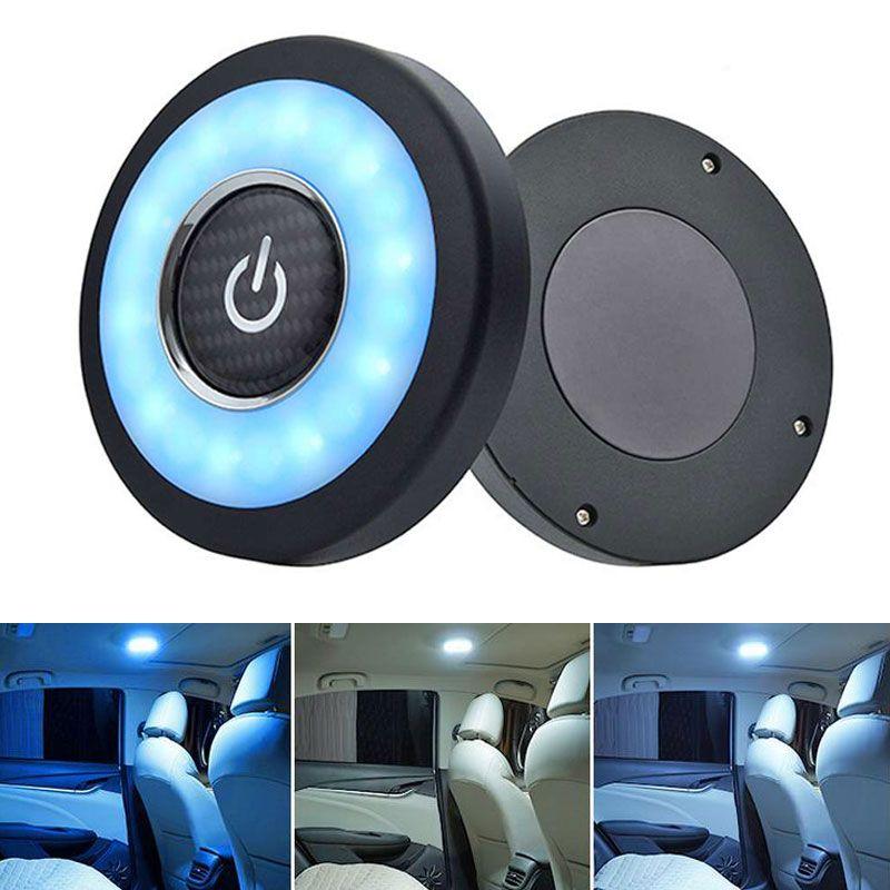 LEVOU Interior Do Carro Luz de Leitura Auto USB Ímã de Carregamento Portátil Dia Luz Tronco Veículo Interior Teto Iluminação Diurna