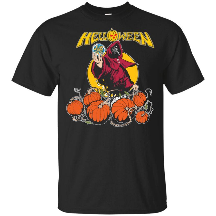 Helloween Vintage T-Shirt Männer Schwarz S-5Xl Geschenke 2019 Halloween-Tag Fitness-Studios Fitness-T-Shirt