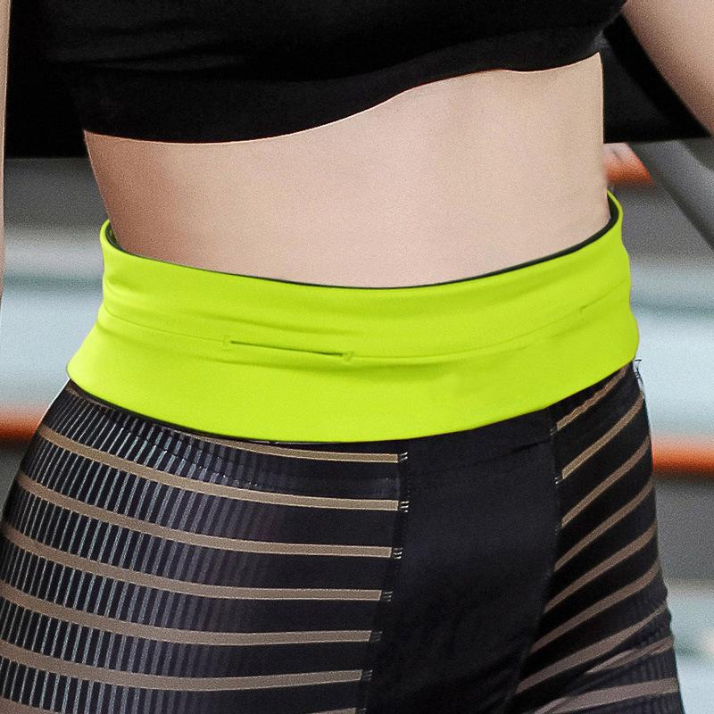 Yeni Koşu Çantası Açık Fermuar Spor Bisiklet Koşu Telefon Bel Kemer Çanta Cebi Kemer Spor Yoga Yürüyüş Aksesuarları Unisex