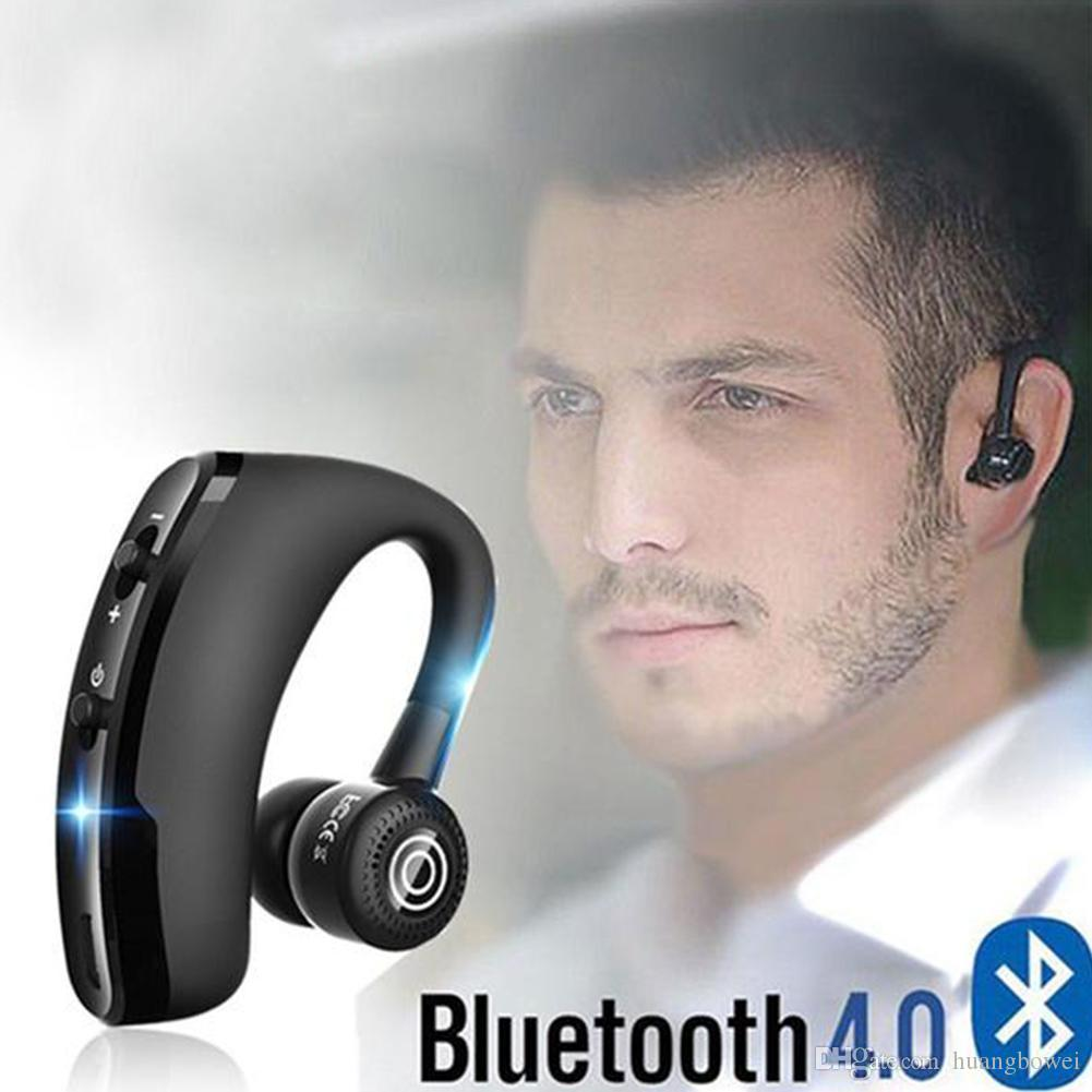 V9 Wireless Bluetooth Earphones Handsfree Noise Cancelling Business Bluetooth Headphones Headset With Mic For Iphone Samsung Huawei Wireless Headphones For Phone Best Quality Earbuds From Huangbowei 12 13 Dhgate Com