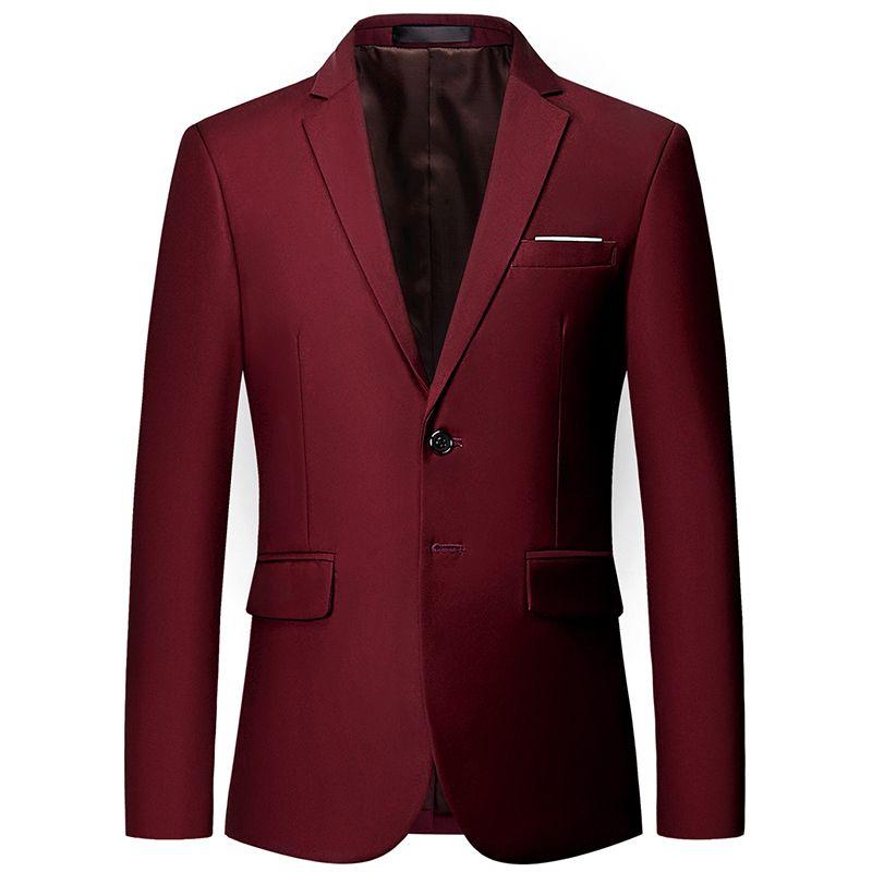 Luxury classic men blazer plus size 6XL men's casual business suit jacket men's slim tuxedo club gentleman clothing (10 colors)