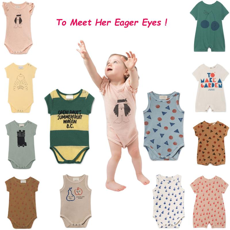 Macacão de bebê 2019 Verão Strafina Tao Meninos Meninas Macacão Infantil Crianças Macacão Crianças One piece-Suit Em Geral Roupas Infantis Y19050602