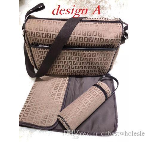 Nursing borsa Bambino Diaper Bag con interfaccia USB di grande capienza impermeabile Nappy Bag Mummy Maternity Kit