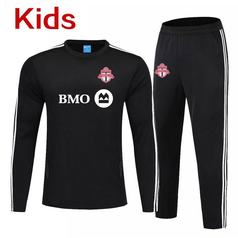 Toronto FC enfants enfants formation de soccer Toronto FC jeunesse Survêtements formation sport garçons de football uniformes Running Sets