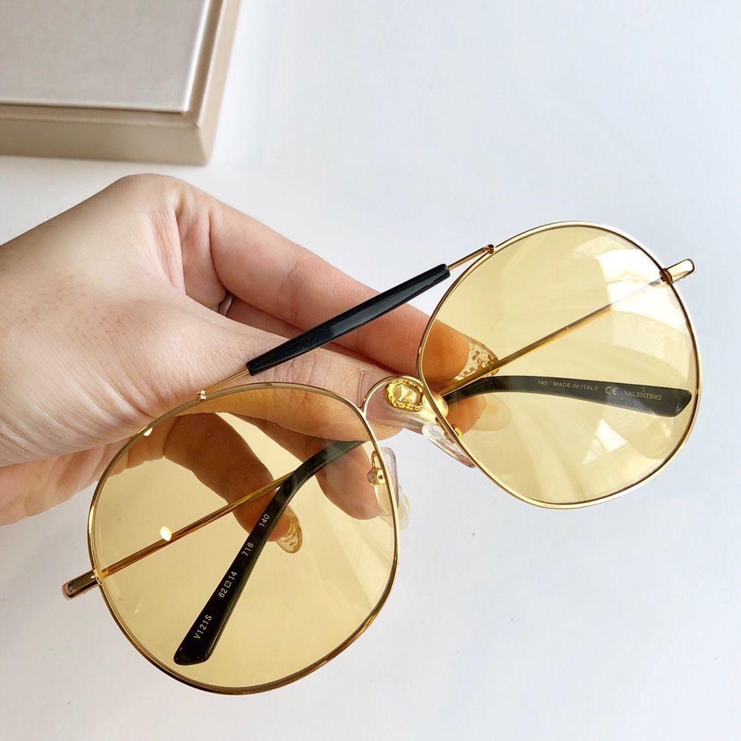Accesorios de alta calidad el envío libre de las mujeres Gafas de sol hombre gafas 20191122-6.784 # 27491