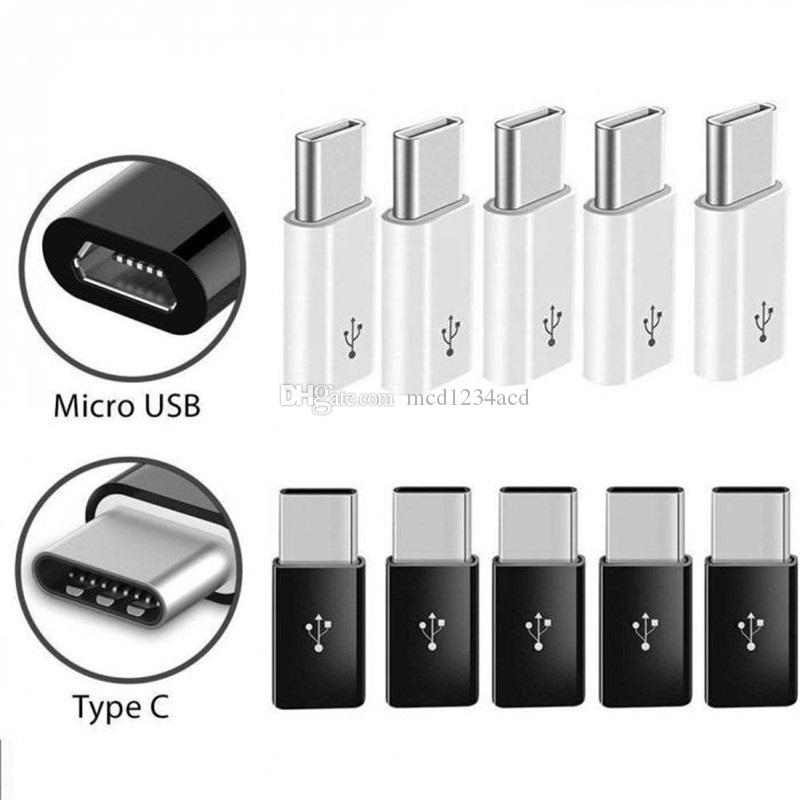 Micro zum Typ C USB-Datenadapter-Anschluss für Samsung HTC Android Phone Tablet