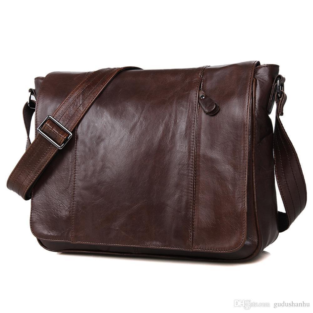 JMD дубленой кожи мужской Сумка через плечо Сумка Sling сумка для молодых 7338