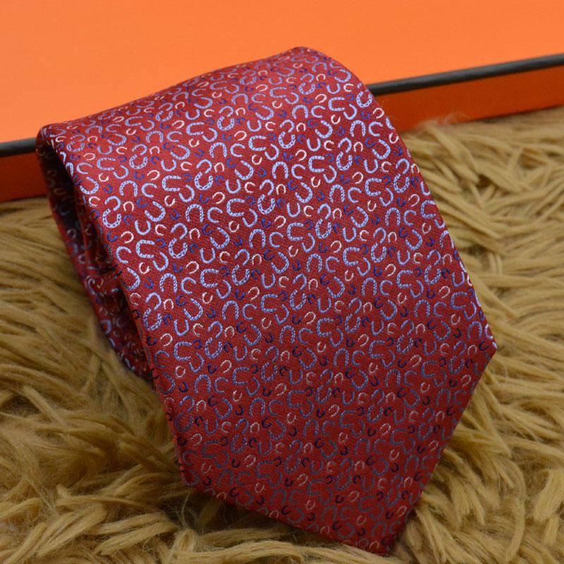 الرجال العلاقات ماركة رجل الأزياء إلكتروني العنقات سليم ربطة العنق الكلاسيكية الأعمال الزفاف حزب مأدبة عارضة الأحمر التعادل للرجال