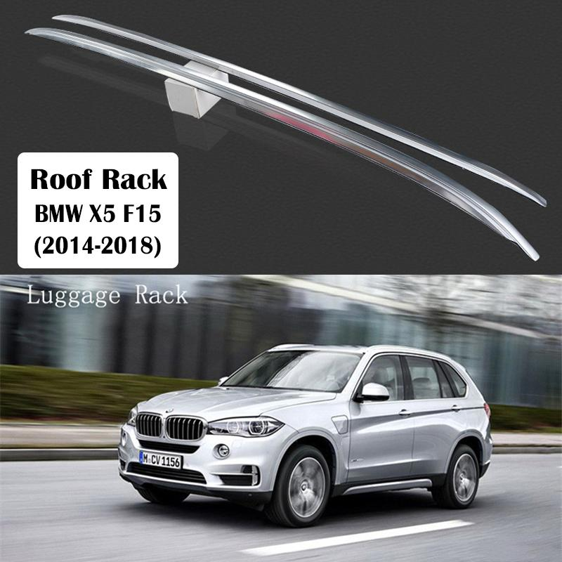 Aluminum Alloy Roof Rack For X5 F15 2014-2018 Rails Bar Luggage Carrier Bars top Cross bar Rack Rail Boxes
