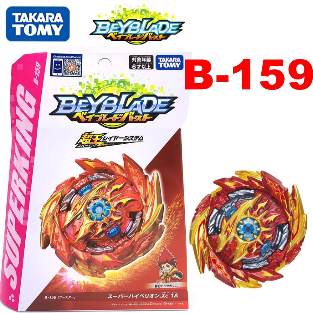 Free Shipping New Product Original TAKARA TOMY BEYBLADES BURST Booster B-159 Super Hyperion.Xc 1A