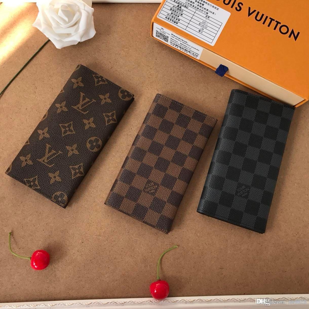 Moda Classic Wallet, borsa, carta della clip, presbiopia cuoio di stampa, adatto per gli uomini e le donne, nuovo 2018,