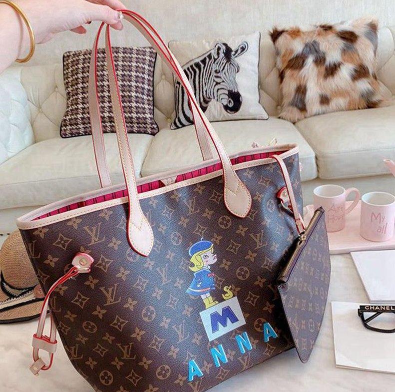 cuero de lujo clásico del bolso Puras correa para el hombro Crossbody de alta calidad de cuero de hombro del bolso de las mujeres del bolso -0612
