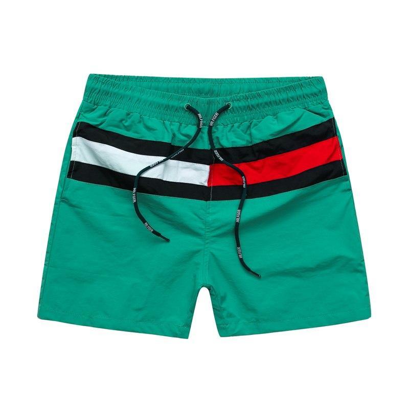 Mens Summer Fashion Stylist Shorts alta qualidade Mens Praia Shorts Mens Shorts Casual 5 cores tamanho M-2XL