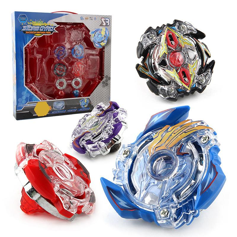 Beyblade Burst Set With competitive battle plate Pull Line Handle Combat Disk Toys Boys Kids Gifts Gyro toy C2379