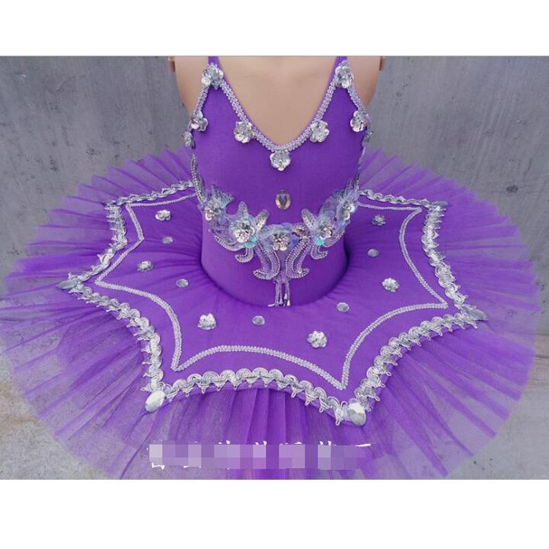 Wholeslae-White/Blue/Pink Swan Lake Ballet Costume For Girls Ballerina Dress Children Dresses