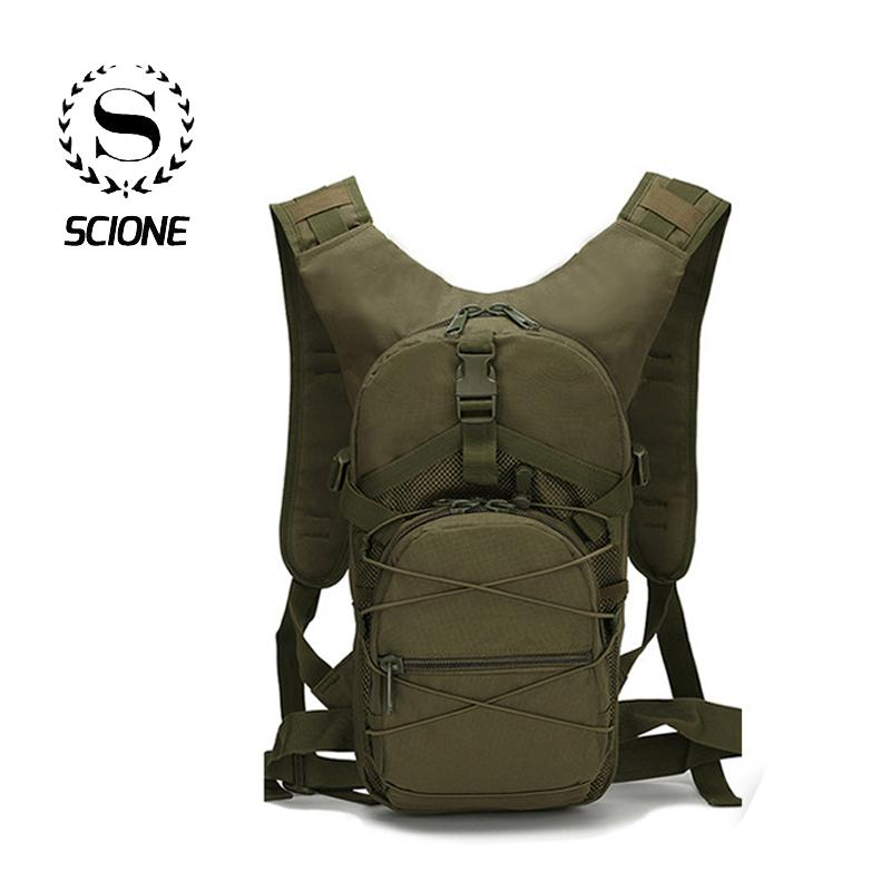 Scione Outside Military Army Green Backpack Waterproof Oxford Casual Camouflage Travel Bag Womens Traveling Backpack Bag T200326