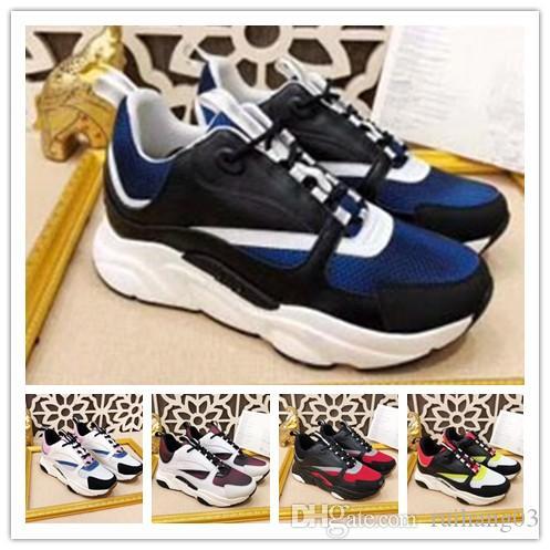 2020 nouvelles chaussures de sport pour hommes chauds B22 de haute qualité des chaussures de sport chaussures de marque française de designers de femmes de la mode casual 35-45 1w51