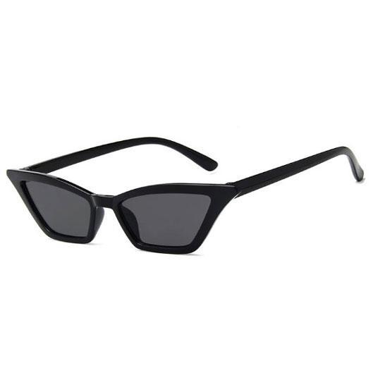 Lunettes de soleil rétro de la mode HD Cat Cat New Whole Wide Wide De Marque De Designer Shading Black Sunglasses Femme 2021 UV400 Retro Ifkci