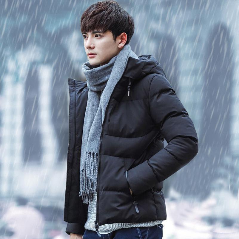 mens designer manteau d'hiver court beau jeune homme de clothes2C2P coton rembourré