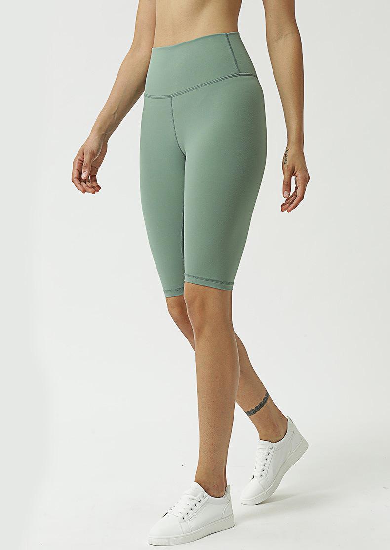 Nuove yoga pantaloni delle donne Sport 3/4 LengthTight-Fit Yoga elastico Leggings Calcas Shorts