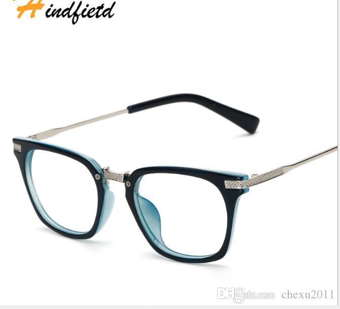 Montura de gafas retro artesanal para gafas de mujer.