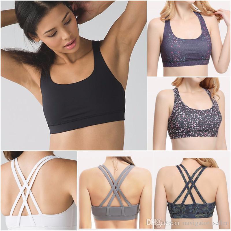 Sütyen Bayanlar Casual Yoga Kıyafetler Yetişkin Spor Egzersiz Fitnes Wear Koşu Moda LU-55 Kadınlar Yoga Yelek Kızlar