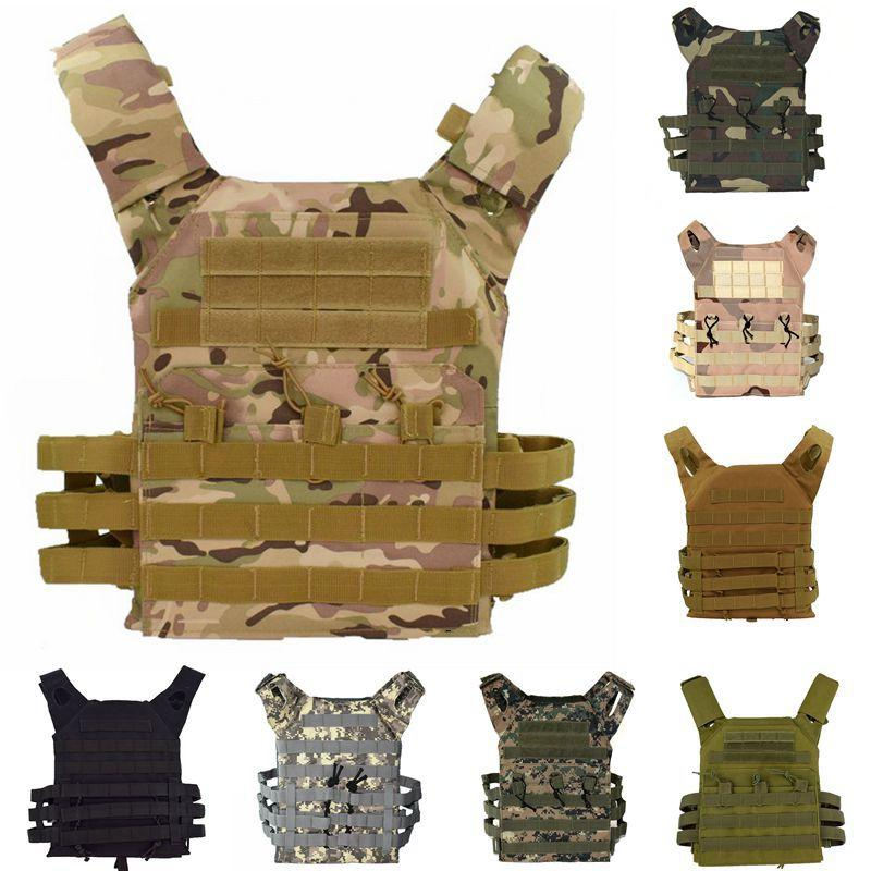 Tactical JPC Plate Carrier 600D Molle Vest Gear Army Combat Body Armor Hunting Vest Protective