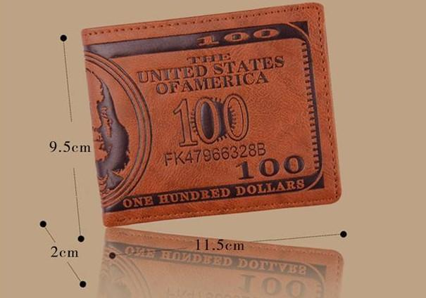 fashion men dollar purse wallet mix leather designer creativity card holders wallets for men mens wallet wholesale