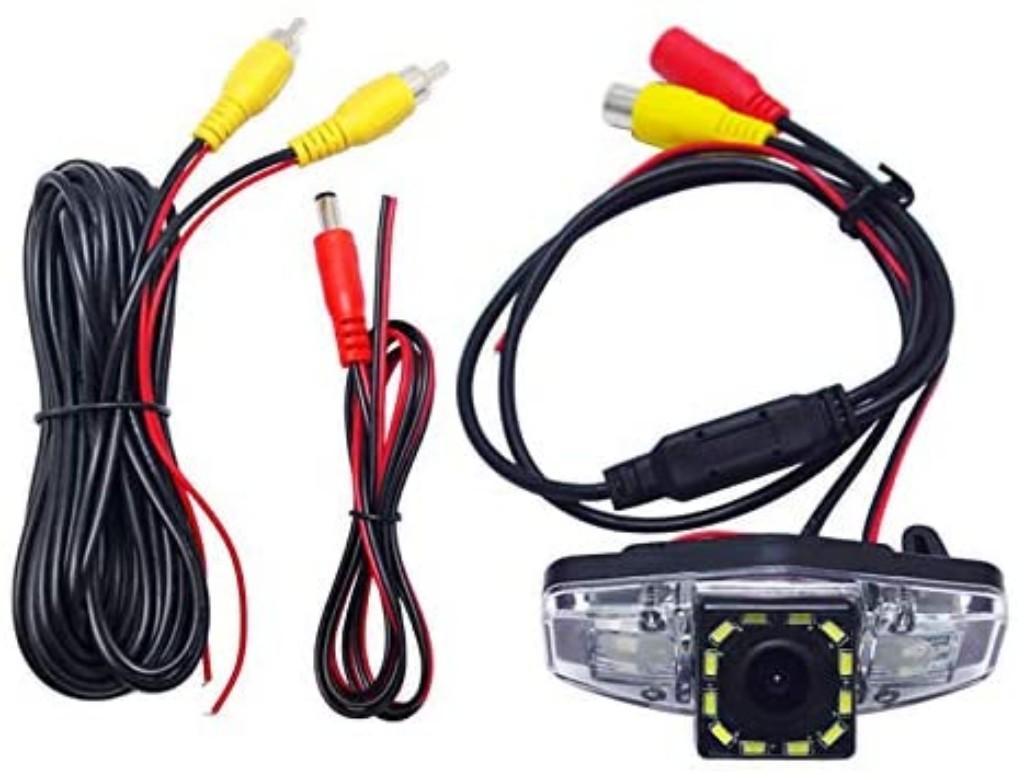 Автомобиль заднего вида Камера Reverse парковочная камера со светодиодной Свет для Acura TSX (2004-2011)