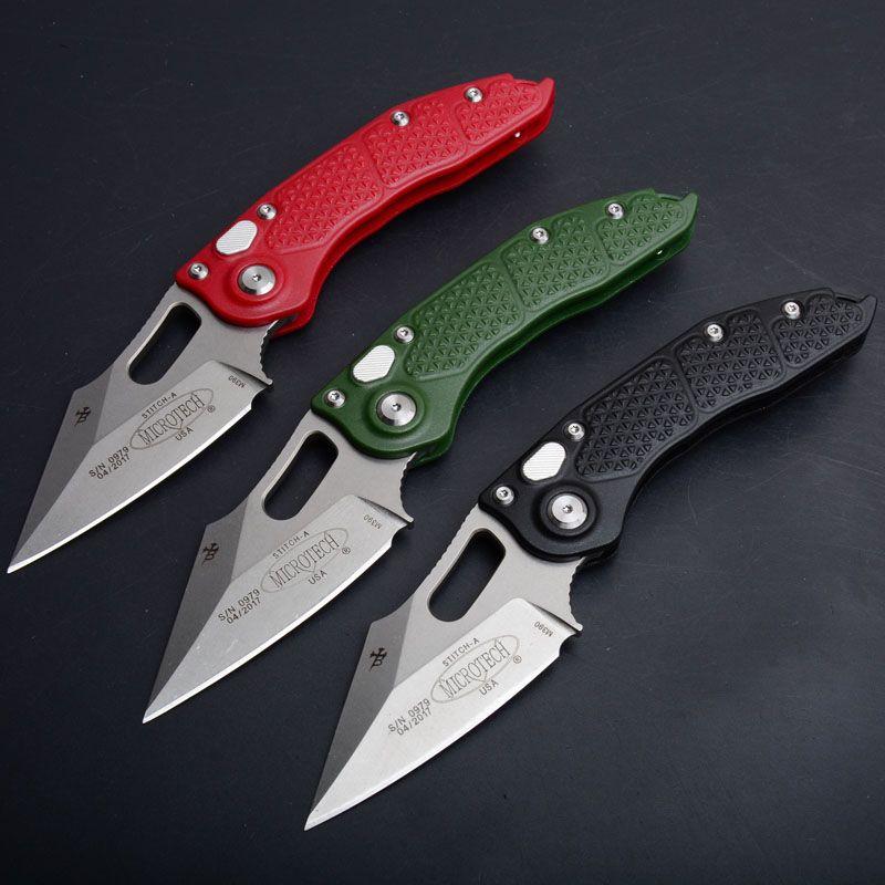 قوه ثلاثة نماذج = سكين التكنولوجيا DOC التلقائي (الاتصال الموت) m390 العلاج المبردة + 60HRC + EDC أداة