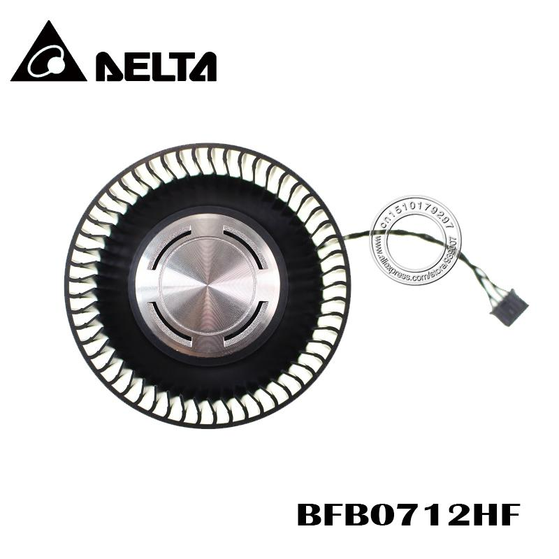 Cheap Fans & Cooling Free Shipping BFB0712HF 65mm 12V 1.8A For NVIDIA GTX Titan GTX980 980Ti Graphics Card Cooling Fan 4Pin 4Wire