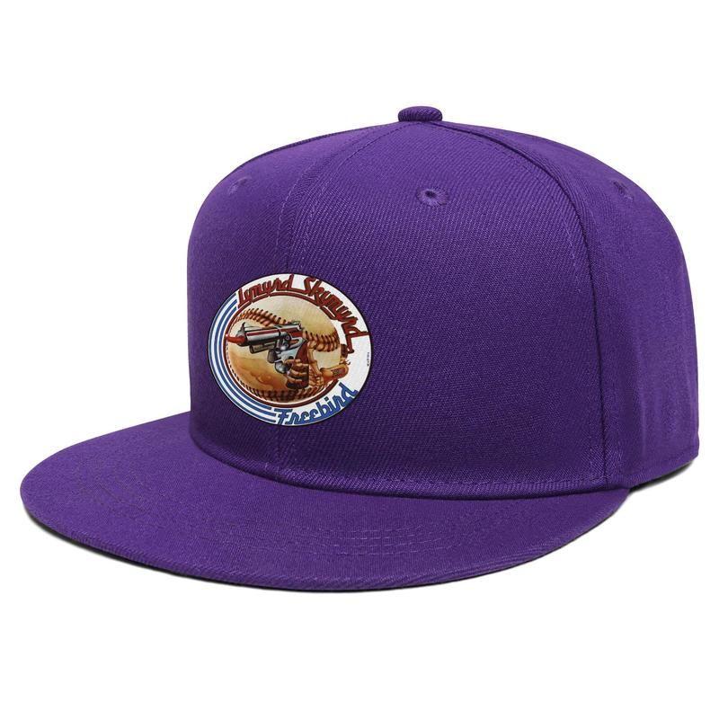 Lynyrd Skynyrd Ронни Ван Zant 1948-1977 Унисекс Flat Брим Бейсболка Blank Запуск Trucker шляпы бейсбол логотип рок флэш-золотой ободок