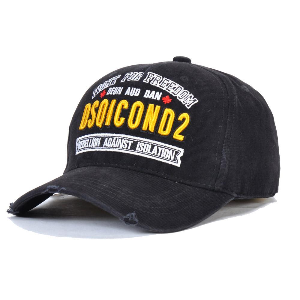 2020 غطاء جديد DSQICOND2 قبعات الرجال الفاخرة مصمم قبعات البيسبول قبعات النساء Casquette التطريز قابل للتعديل المتاحة للاختيار D21 الجديد