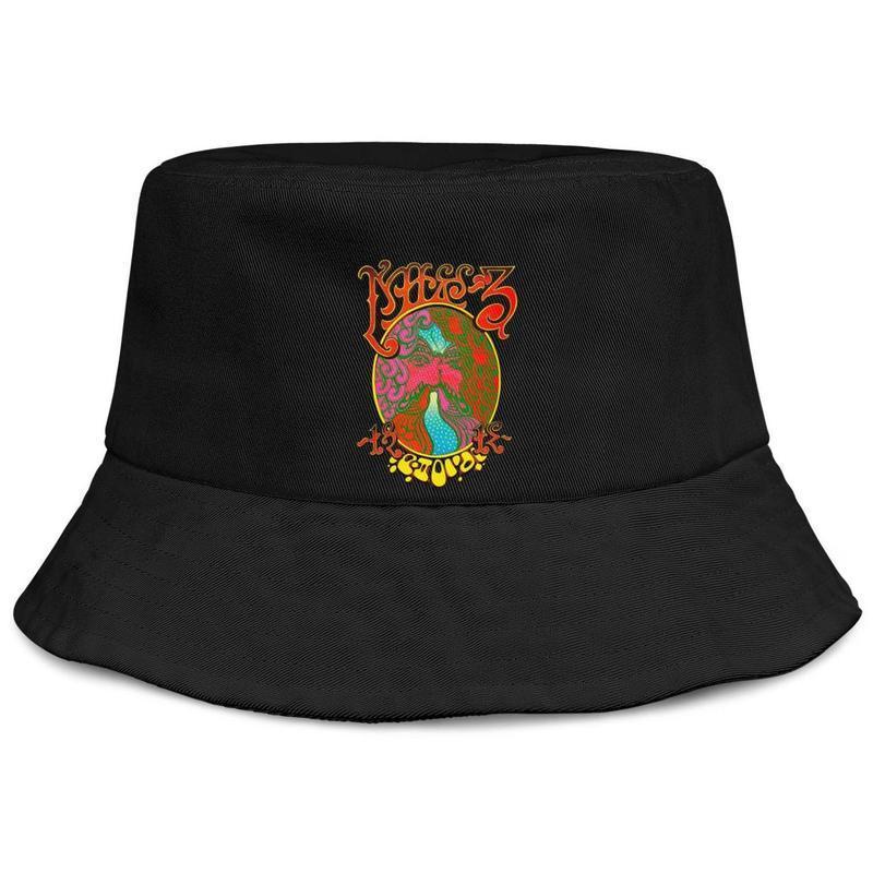 Grateful Dead Aoxomoxoa hombres de color rosa cubo de pesca sombrero para el sol diseño retro moda personalizada cubo personalizado suncap