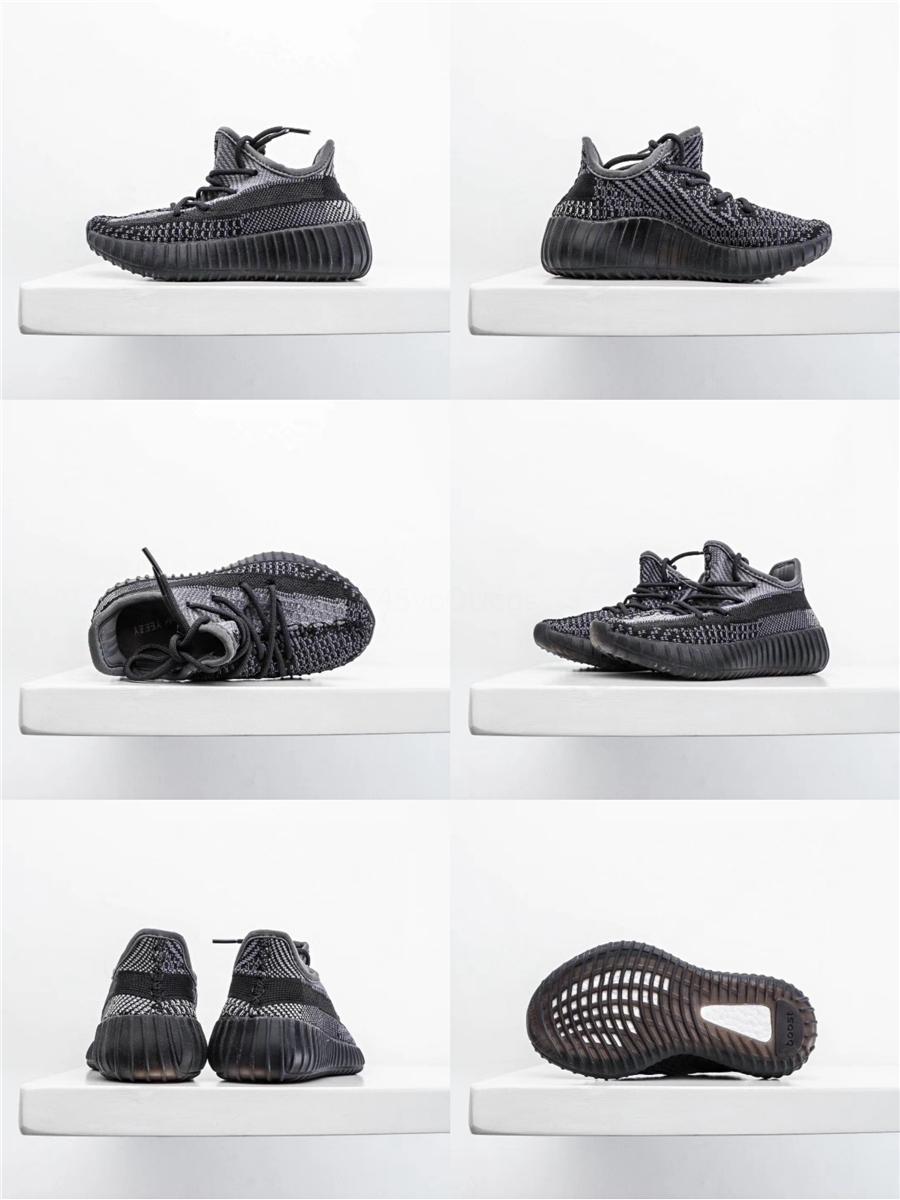 Gerçek Formu Bebek 72S Hiper Uzay Çocuklar Ayakkabı Koşu Kil Kanye West Moda Bebek Eğitmenler Büyük Küçük Boy Kız Çocuk Bebek Sneaker # 938