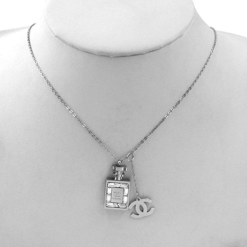 donne gioielli dal design di lusso collana ciondolo blocco collana di design elegante collana argento di alta qualità in oro e un vestito di orecchini bracciali