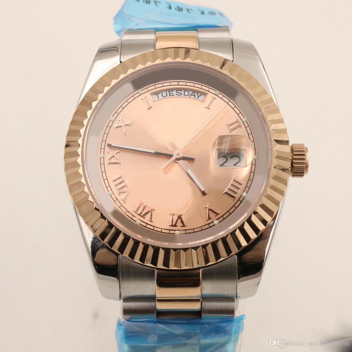2020 Automatic Relógios Chronograph Mens Relógios Mans mechinal Assista 40 milímetros Tamanho Sapphire vidro de alta qualidade