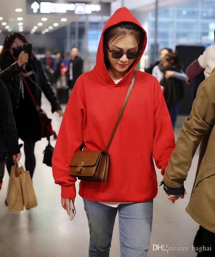 Плечо сумки Креста тела Totes 3345 19CM16 сумки Тофу 2018 года бренд моды роскошь дизайнер знаменитых женщин плеча дизайнер Использование мягкой воловьей