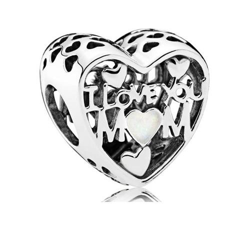 Vente en gros - Perles d'argent sterling Pandora Style Charm Berce Bracelet Cristal Bleu Crystal Beads pour Bracelets Designer de luxe bijoux CZ8500527