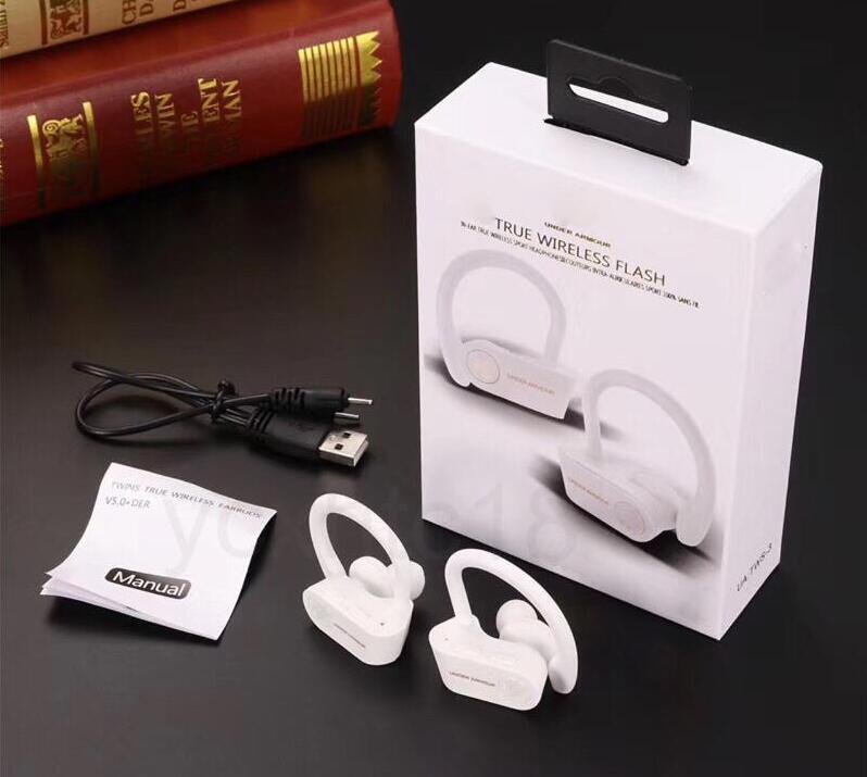 IOS Android için Taşınabilir kulak kancası Kulaklıkların eaouteurs Blutetooth oyun Kulaklık True Kablosuz Flaş Kulaklık