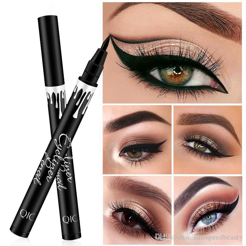 Waterproof Black Liquid Eyeliner Pencil Big Eyes Makeup Long-lasting Eye Liner Pen Make up Smooth Fast Dry Cat Eye Cosmetic Tool A2201